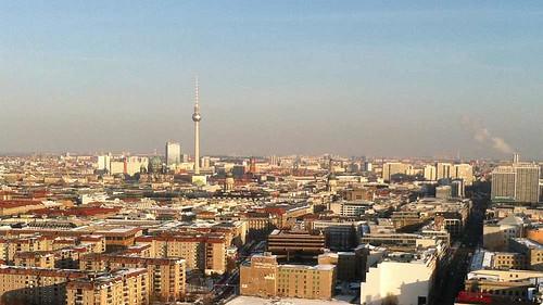 Televisietoren Alexanderplatz - Berlijn - Berlin