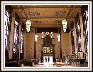 Inside Union Station Omaha Nebraska