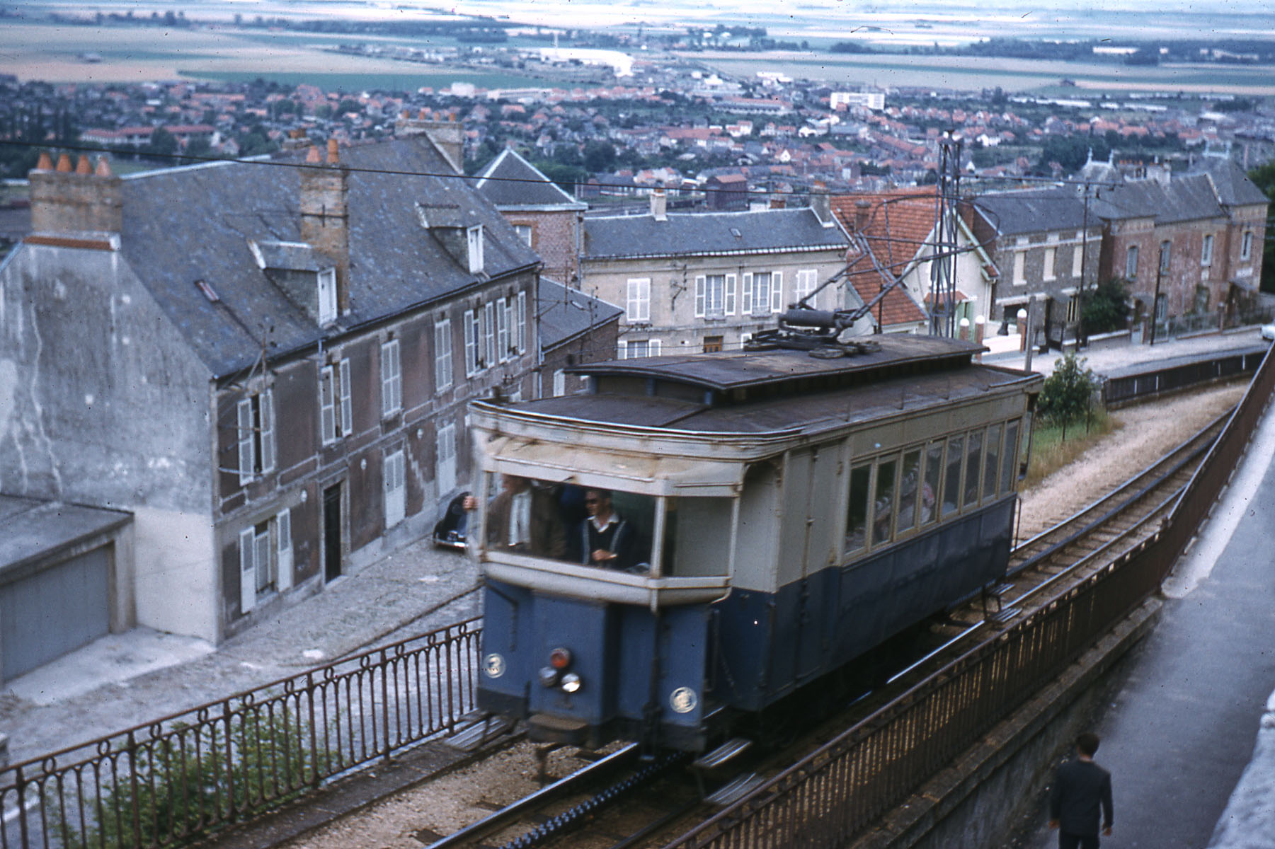 Laon France  city images : JHM 1962 0002 Laon, tramway à crémaillère | Flickr Photo ...