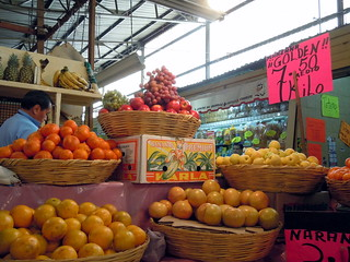 Fruits at a market in Bondojito