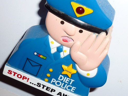 Diet Police fridge magnet