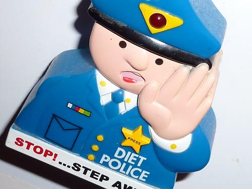 Diet Police fridge magnet