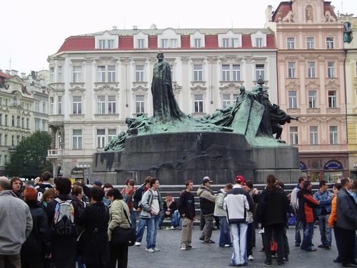 Monument to John Huss - Monument a Jan Hus - Praha · Prague · Praga