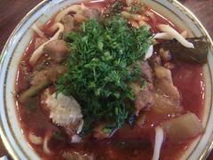 noodle(1.0), meal(1.0), bãºn bã² huế(1.0), lamian(1.0), noodle soup(1.0), kuy teav(1.0), meat(1.0), food(1.0), beef noodle soup(1.0), dish(1.0), laksa(1.0), soup(1.0), cuisine(1.0), nabemono(1.0),