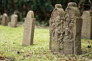 neulich auf'm Friedhof