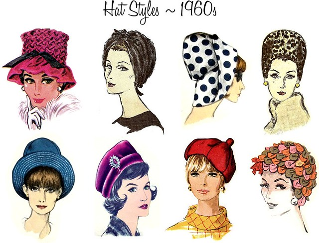 {Hat Week} A Brief History of Hats: 1960s