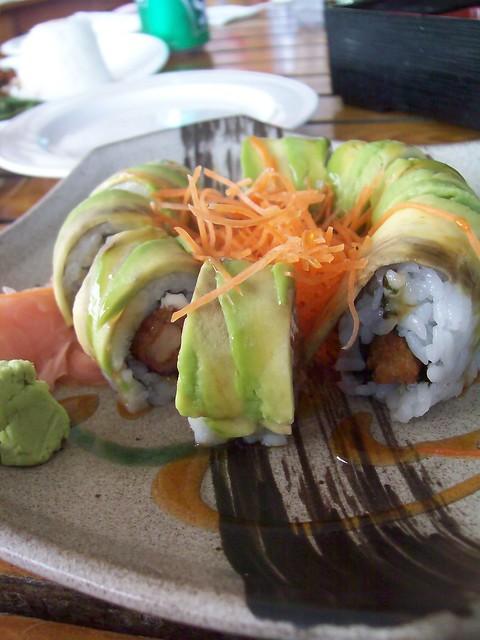 Dragon Cafe Sushi Menu