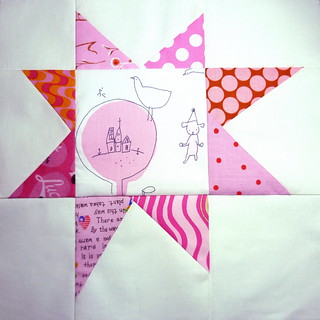 Wonky star- quilt-a-long