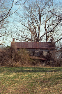 Abandoned Reed Robertson's Homeplace, Lottsburg, Virginia