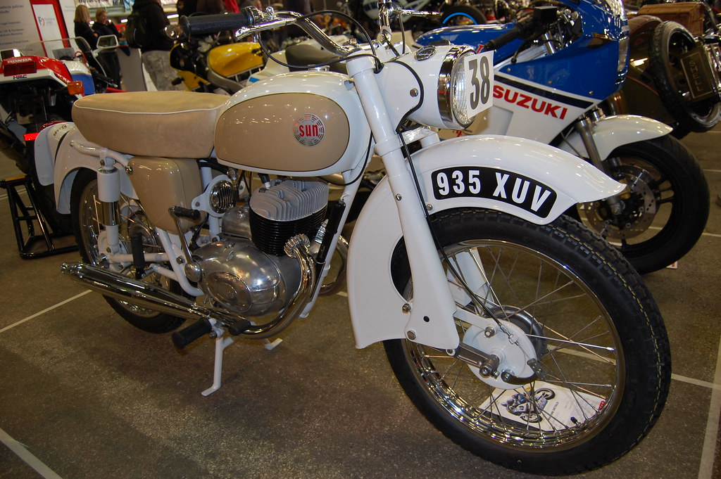 THE SUN MOTORCYCLE. OVERLANDER.250cc TWO STROKE TWIN. UK 1957-1961.