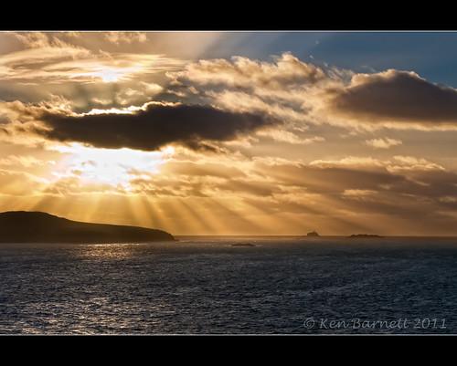 sunset sea sky cloud lighthouse art water canon photos fine 30d irishsea kdb ramseyisland ramseysound theunforgettablepictures southbishoprock sigma1770f28dcosmacro
