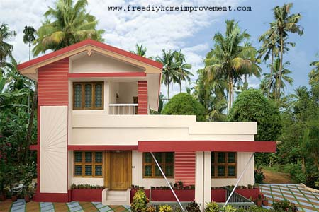 Home Exterior Wall Paint Color Scheme And Color Combination A