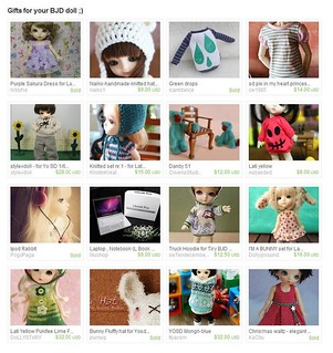 Gifts for your BJD doll