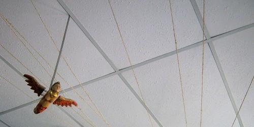 Hostel Mediterraneo ceiling