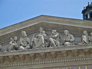Budapest St Stephen's Basilica - April 2003 - Those Damn Pigeons