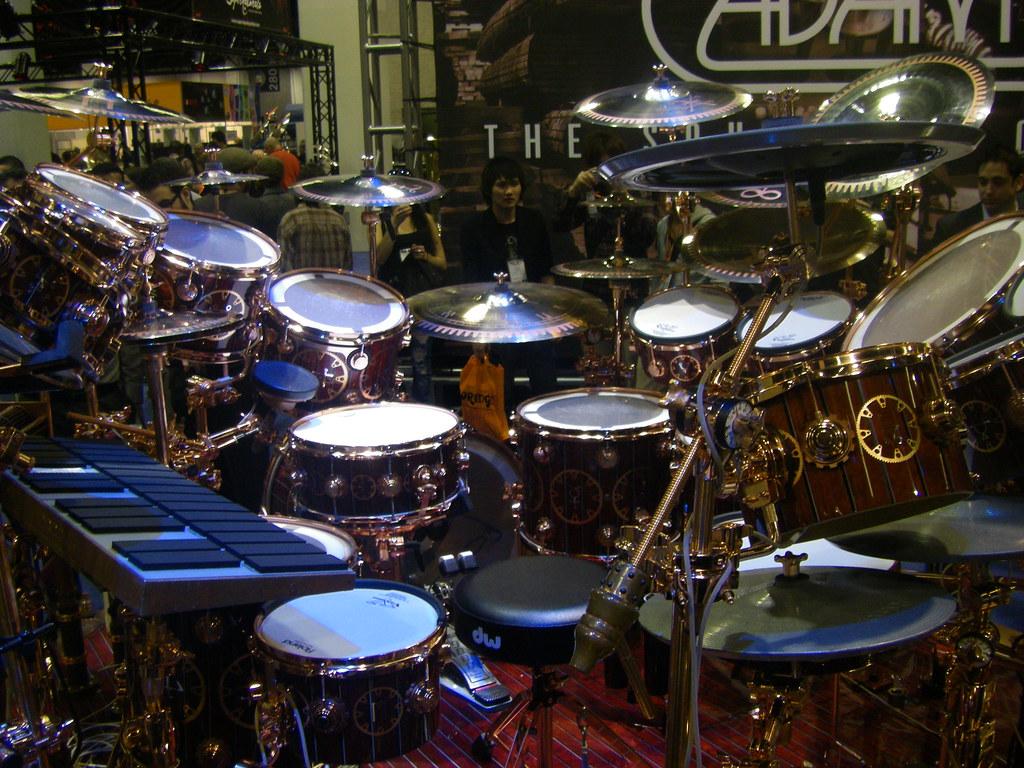 Neil Peart Time Machine Drum Set