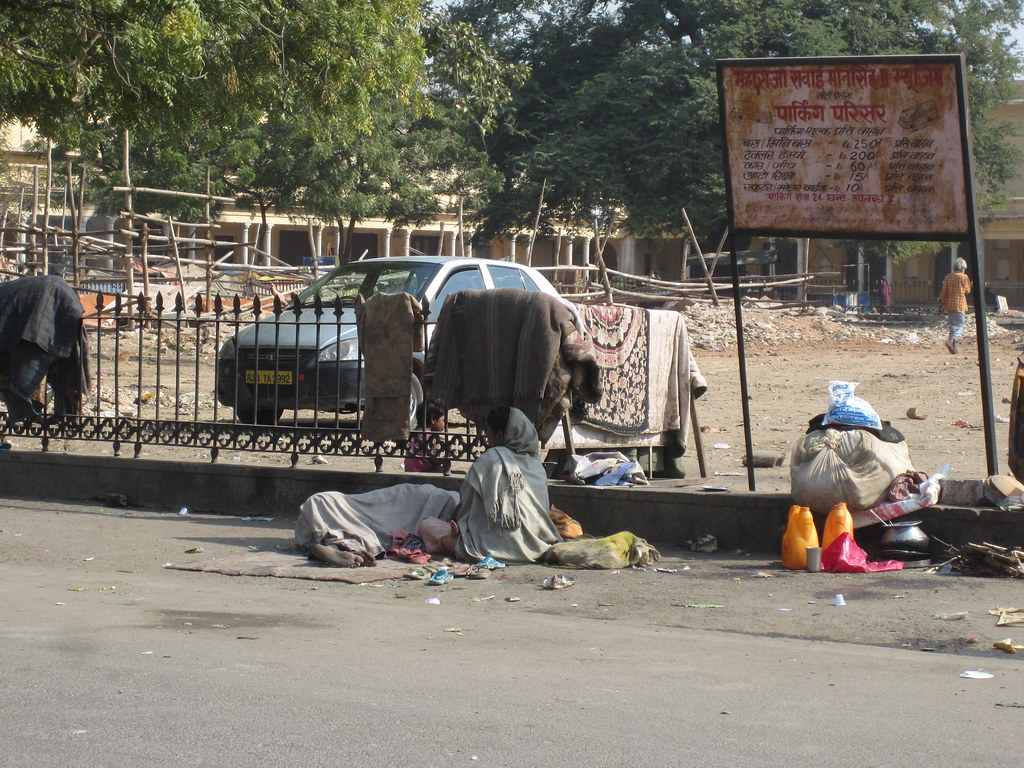 Homeless in Jaipur