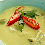 Hearty Seafood Green Curry - Koh Samui, Thailand