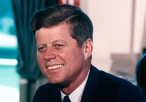 President John F. Kennedy by U.S. Embassy New Delhi