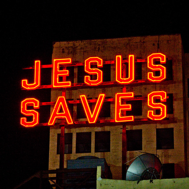jesus saves flickr   photo sharing