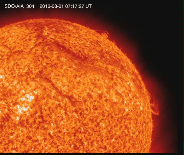 NASA's SDO Catches a Double Solar Eruption [video]