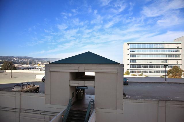 Hyatt Regency San Francisco Airport hotel room view