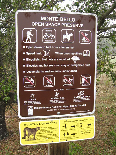 Monte Bello open space presrve