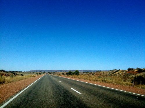 wide open road