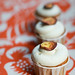Sweet Potato Cupcakes with Bourbon Caramel Frosting