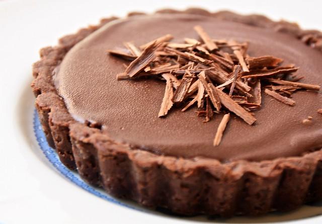 Dark Chocolate Tartelettes