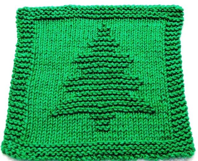 Easy Knitting Pattern For Christmas : Christmas tree flickr photo sharing
