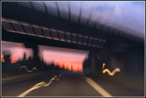 Speed sunset on A29