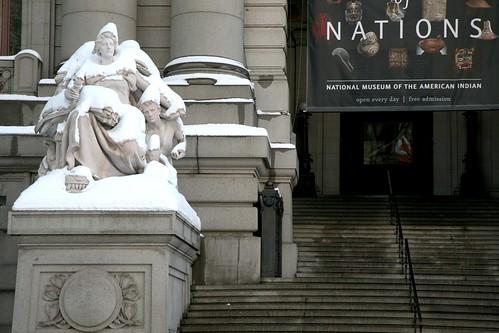 New York City, Lower Manhattan, George Gustav Heye Center of the National Museum of the American Indian, at the historic Alexander Hamilton U.S. Custom House