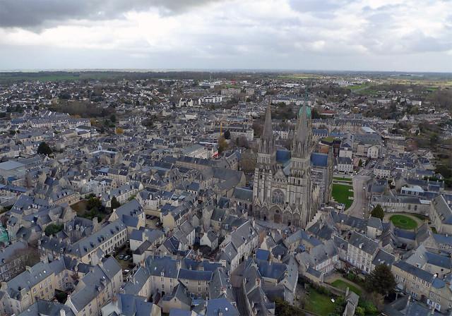 La cathédrale Notre-Dame de Bayeux (Calvados-FR)