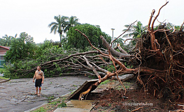Cyclone Carlos, Darwin   February 2011