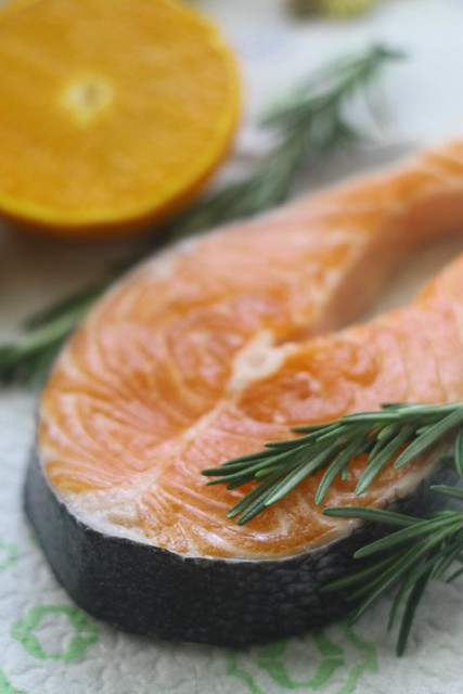salmon rosemary-orange