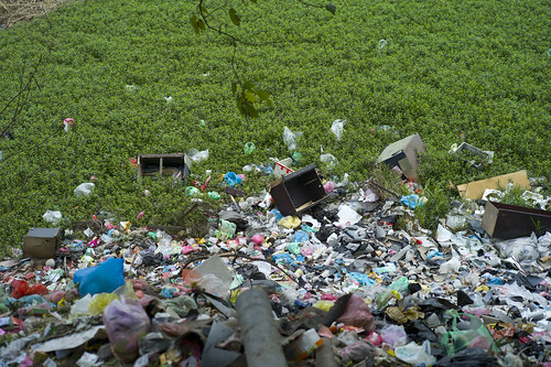 Red River Trash Pile by Michael Cory, on Flickr