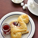 Pomegranate Cream Cheese Almond Danish Pastry