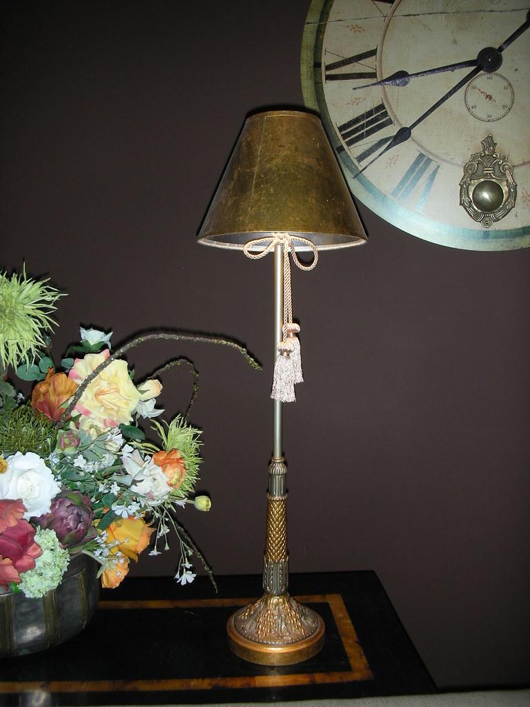 Buffet Lamp Shades Lamp Shades Antique Brass Drapery