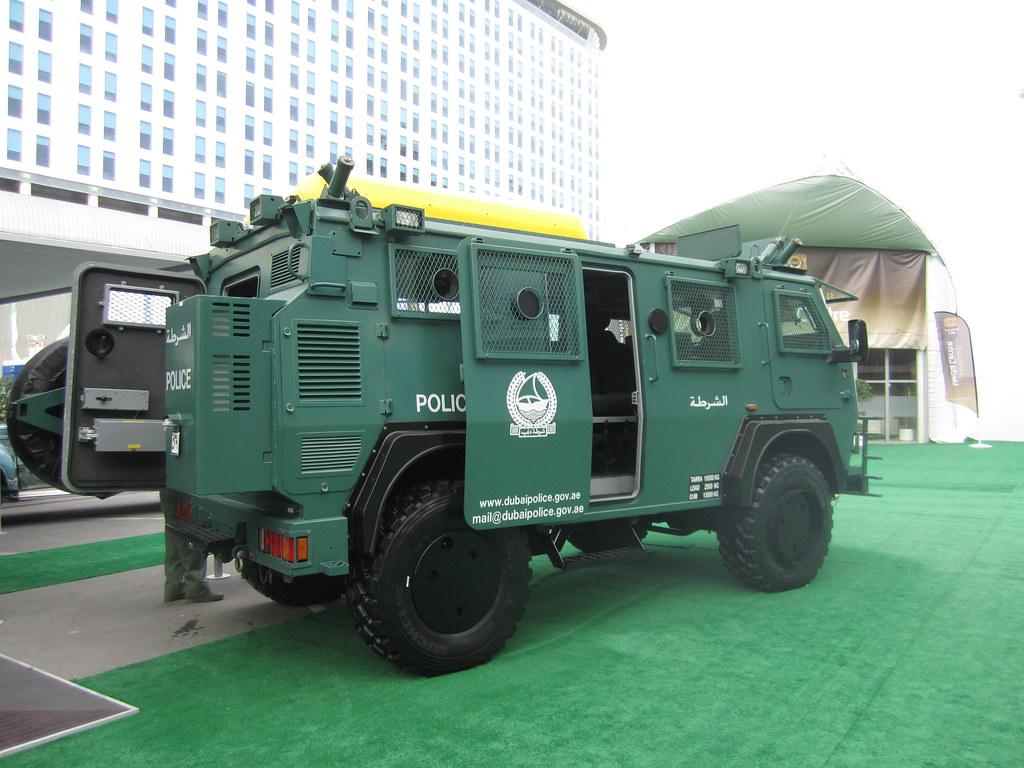 Dubai Police Bae Systems Rg12 Armoured Multi Purpose