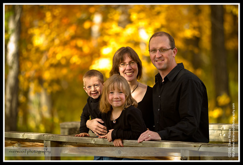 Family Portrait Session at Carburn Park