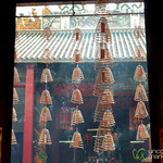 Burning Incense Coils at Guan Di Temple - Kuala Lumpur, Malaysia