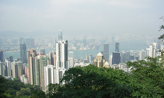 Hong Kong from Victoria Peak (2006)