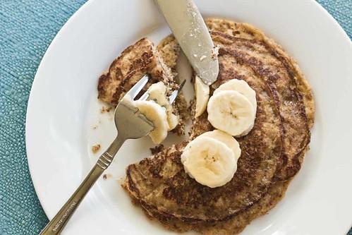 Paleo Pancakes With Bananas