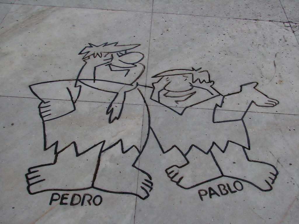 Pedro Picapiedra Y Pablo Marmol Pedro Picapiedra Y Pablo M Flickr
