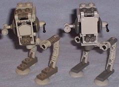 Lego Mini AT-ST Comparison