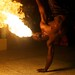 Fire Dancers on Saint Lucia by joncallas