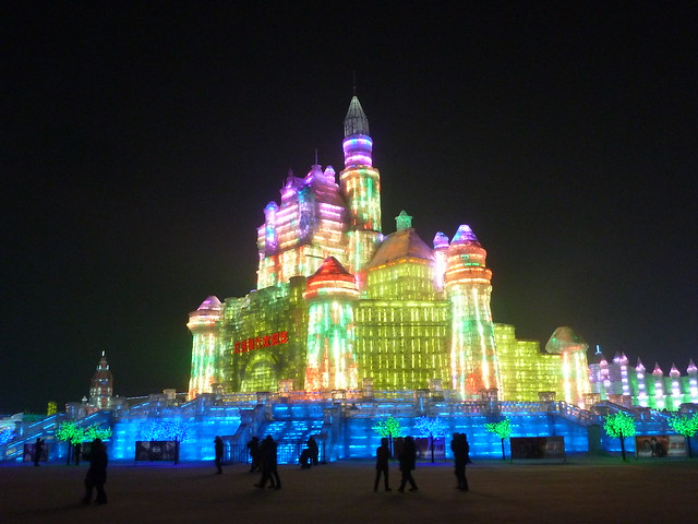 Ice Castle - Ice Festival, Harbin, China