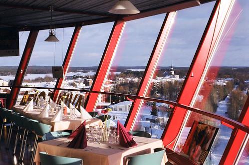 film vintage suomi finland restaurant nikon scenery view watertower oldschool kuusamo fm
