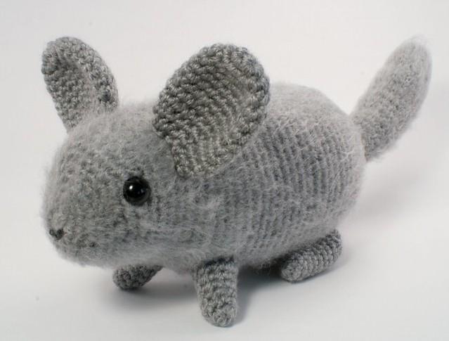 crocheted chinchilla Flickr - Photo Sharing!